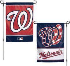 "Washington Nationals 2 Sided Garden Flag 12"" x 18"""