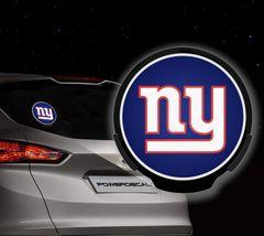 New York Giants LED Window Decal Light Up Logo Powerdecal NFL
