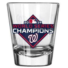 Washington Nationals 2019 World Series Etch Shot Glass 2oz. MLB