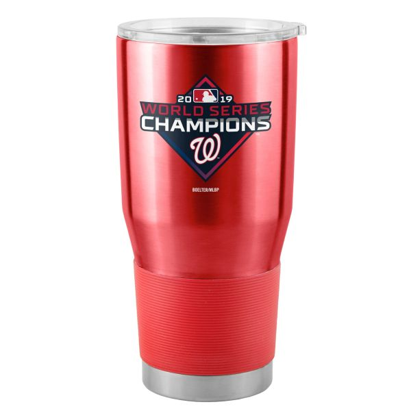 Washington Nationals 2019 World Series 30oz. Insulated Painted Stainless Steel Ultra Travel Tumbler MLB