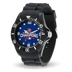 Chicago Cubs 2016 World Series Champions Mens Watch NFL