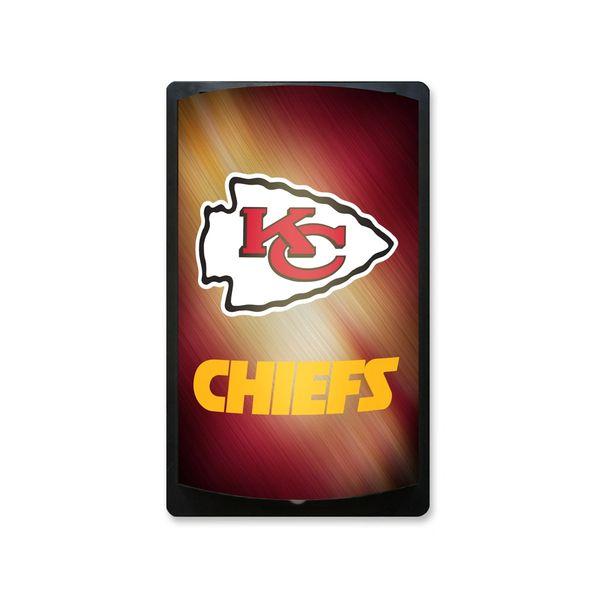 Kansas City Chiefs Motiglow Light Up Wall Sign NFL Party Animal