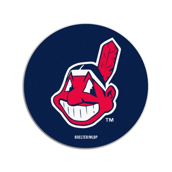 Cleveland Indians Chief Wahoo Pulpboard Coasters 4pack