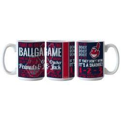 Cleveland Indians Chief Wahoo Ballgame Coffee Mug MLB