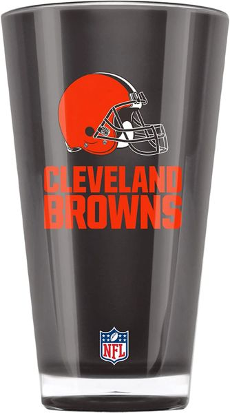 Cleveland Browns Acrylic Tumbler Cup 20oz. Round Insulated/Shatterproof NFL Licensed