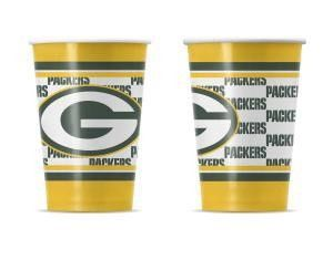Green Bay Packers 10 Pack Disposable Paper Cups NFL