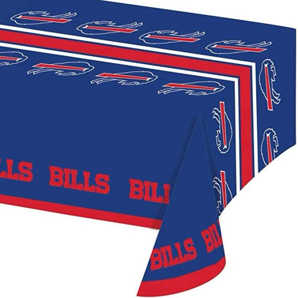 Buffalo Bills Tablecloth Table Cover By Creative Converting