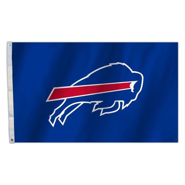 Buffalo Bills Team Logo Banner Flag 3'x5' NFL Licensed