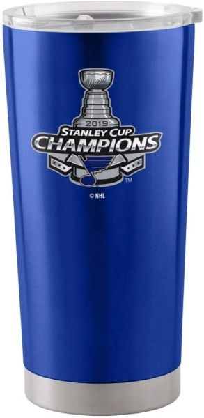 St. Louis Blues 2019 Stanley Cup Champions 20oz. Insulated Stainless Steel Ultra Travel Tumbler
