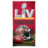 NFL Tampa Bay Buccaneers Super Bowl LV Champions Beach Towel