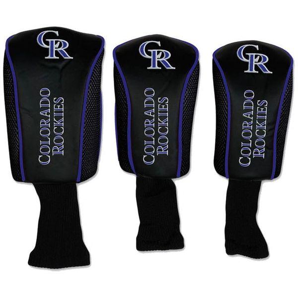 Colorado Rockies Golf Club Covers Headcovers 3 pack MLB Licensed