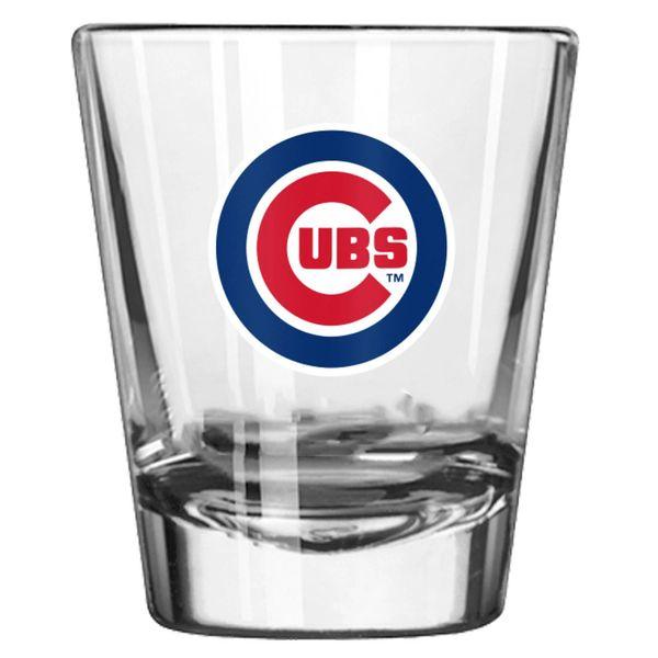 Chicago Cubs Team Logo Shot Glass 2oz. MLB
