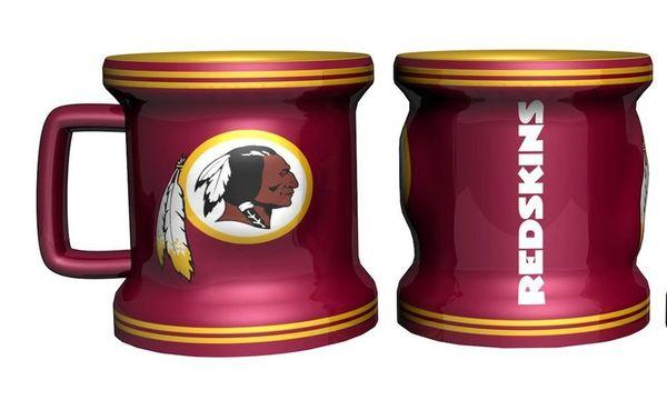 Washington Redskins 2 Ounce Sculpted Ceramic Mug Mini Shot Glass