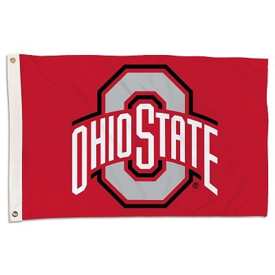 Ohio State Buckeyes Banner Flag 3' x 5' NCAA Licensed