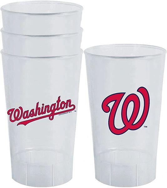 MLB Washington Nationals Acrylic Tumblers 4 Pack