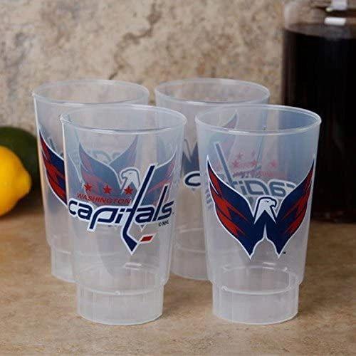 NHL Washington Capitals Acrylic Tumblers 4 Pack