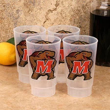 NCAA Maryland Terrapins Acrylic Tumblers 4 Pack