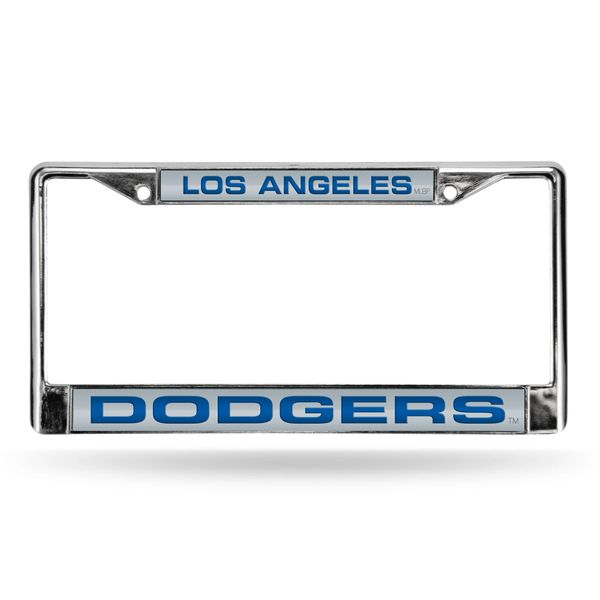 Los Angeles Dodgers Chrome License Plate Frame MLB