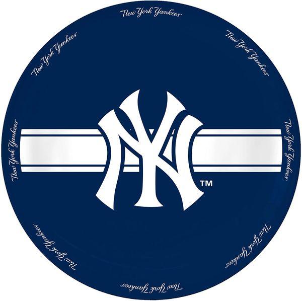"New York Yankees Ceramic Serving Plate 11"" MLB"