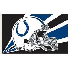 Indianapolis Colts Team Helmet Banner Flag 3'x5' NFL Licensed
