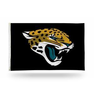 Jacksonville Jaguars Team Logo Banner Flag 3' x 5' NFL Licensed