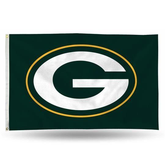 Green Bay Packers Team Logo Banner Flag 3' x 5' NFL Licensed
