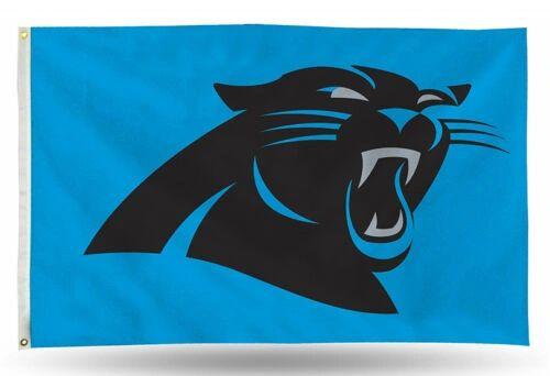 Carolina Panthers Team Logo Banner Flag 3'x5' NFL Licensed