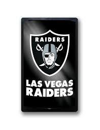 Las Vegas Raiders Motiglow Light Up Wall Sign NFL Party Animal