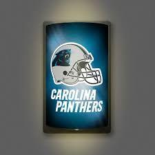 Carolina Panthers Motiglow Light Up Wall Sign NFL Party Animal
