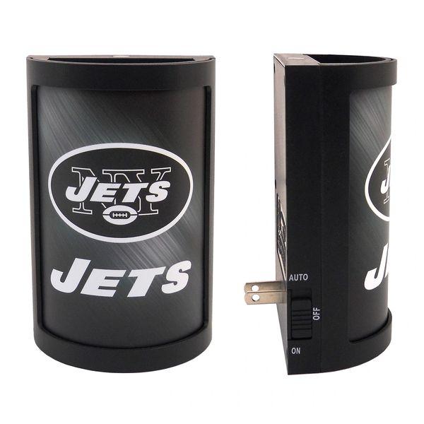 New York Jets LED Motiglow Night Light NFL Party Animal