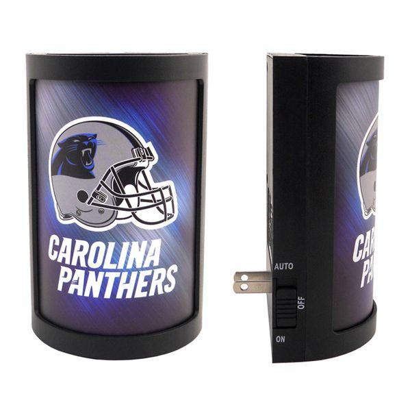 Carolina Panthers LED Motiglow Night Light NFL Party Animal