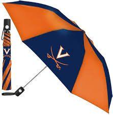 "Virginia Cavaliers Automatic Push Button Umbrella 42"" NCAA"