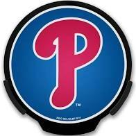 Philadelphia Phillies LED Window Decal Light Up Logo Powerdecal