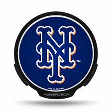 New York Mets LED Window Decal Light Up Logo Powerdecal