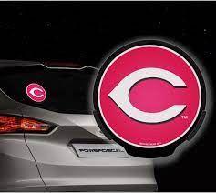 Cincinnati Reds LED Window Decal Light Up Logo Powerdecal
