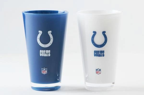 Indianapolis Colts Tumblers Home/Away Twin Pack NFL Licensed