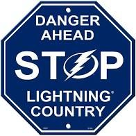 "Tampa Bay Lightning Acrylic Wall Stop Sign 12"" x 12"" NHL Licensed"