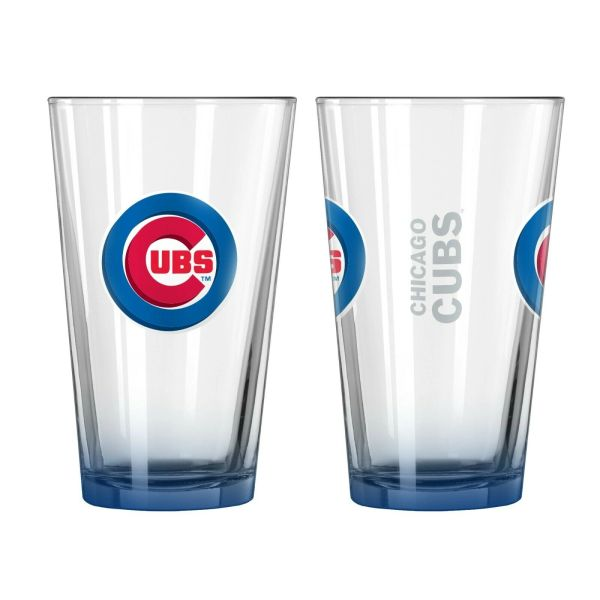Chicago Cubs Gameday Elite Pint Glass 16oz. MLB