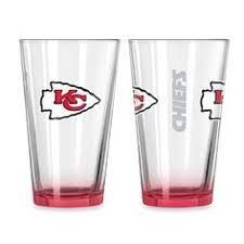 Kansas City Chiefs Gameday Elite Pint Glass 16oz. MLB