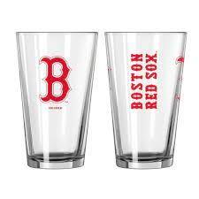 Boston Red Sox Gameday 16oz Pint Glass 16oz. MLB