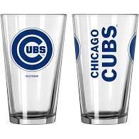 Chicago Cubs Gameday 16oz Pint Glass 16oz. MLB