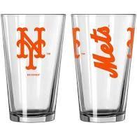 New York Mets Gameday 16oz Pint Glass 16oz. MLB