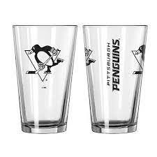 Pittsburgh Penguins Gameday 16oz Pint Glass 16oz. NHL