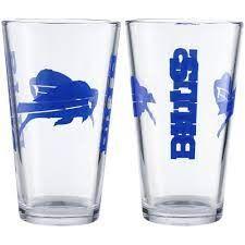 Buffalo Bills Gameday 16oz Pint Glass 16oz. NFL