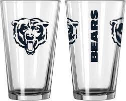 Chicago Bears Gameday 16oz Pint Glass 16oz. NFL