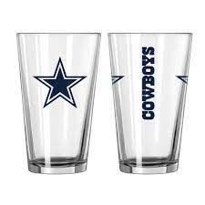 Dallas Cowboys Gameday 16oz Pint Glass 16oz. NFL