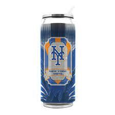 New York Mets Insulated Stainless Steel Thermo Can Travel Tumbler MLB