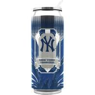 New York Yankees Insulated Stainless Steel Thermo Can Travel Tumbler MLB