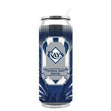 Tampa Bay Rays Insulated Stainless Steel Thermo Can Travel Tumbler MLB