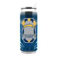 Los Angeles Chargers Insulated Stainless Steel Thermo Can Travel Tumbler NFL